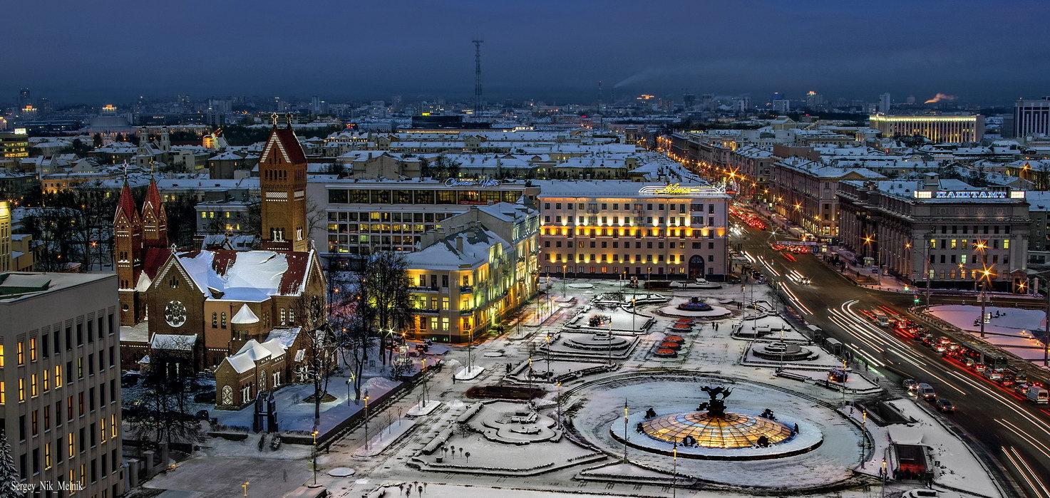 Картинки по запросу Минск зима день