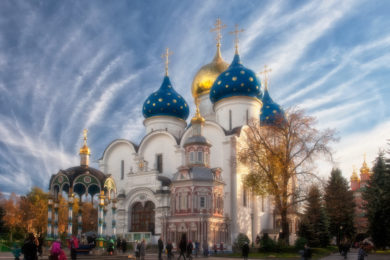 Матрона Московская + Храм Христа Спасителя