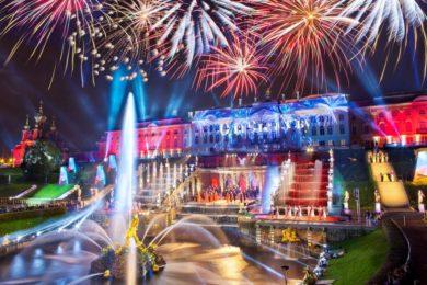 Санкт-Петербург <br>«Праздник закрытия фонтанов»