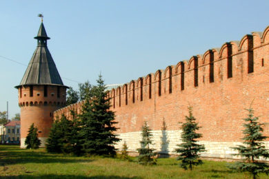 Тула (музей самоваров, Тульский кремль и многое другое)