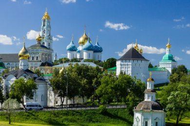 ☦ Матрона Московская + храмы Москвы