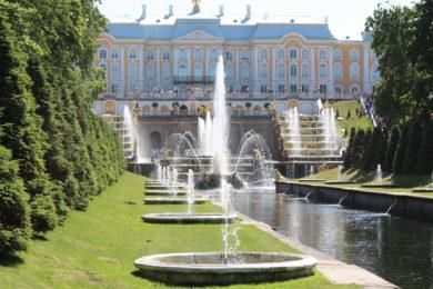 Санкт-Петербург «Открытие фонтанов»
