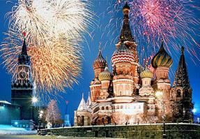 Новогодний/Рождественский тур в Москву