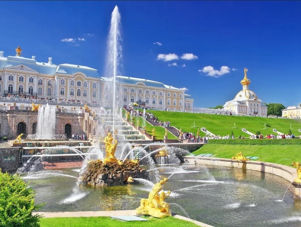 Санкт-Петербург<br>на майские праздники. Открытие фонтанов. Выезд из Курска