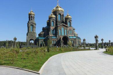 Матрона Московская + Храм Вооруженных сил РФ