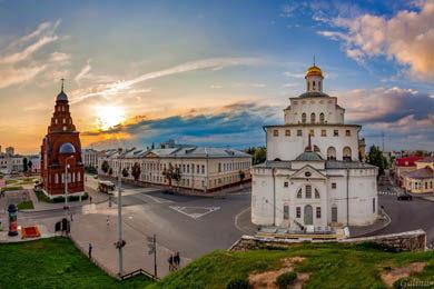 Суздаль + Владимир (Тур выходного дня)