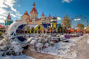 Новый год в Олимпийском Сочи 2021 из Курска