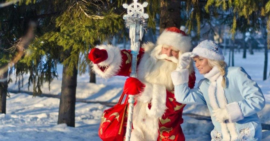 Новогодняя Ёлка на ХУТОРе ПЕСОЧНОЕ