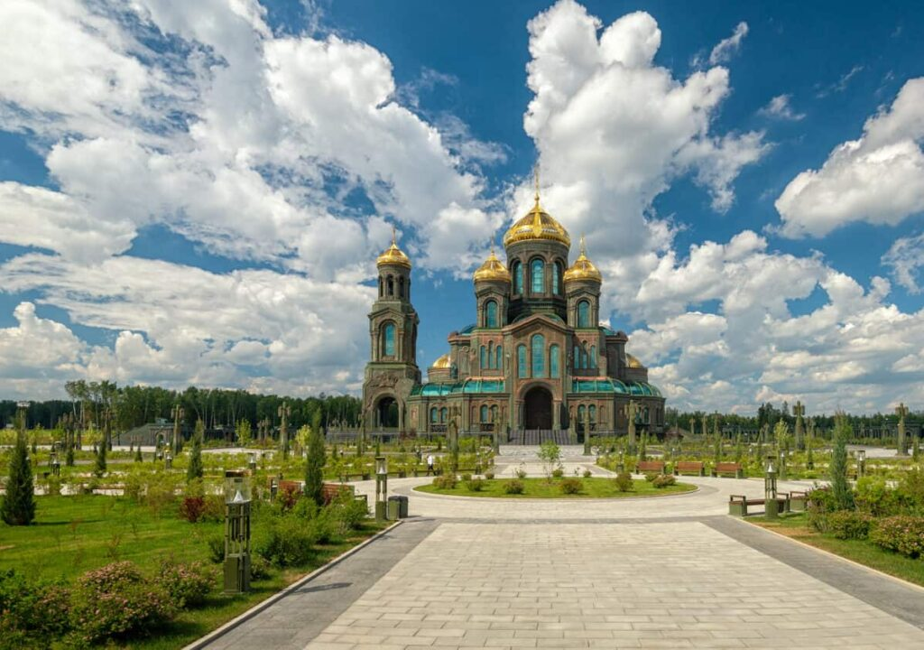Матрона Московская<br>+Храм Вооруженных сил РФ