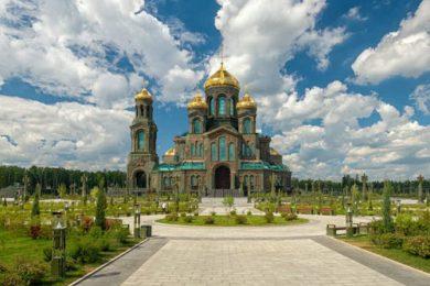 Матрона Московская +  Главный Храм Вооруженных сил